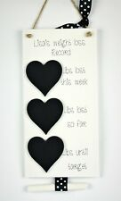 Personalised Weight Loss Chalkboard Plaque - Diet Aid- lbs lost - Slimming world