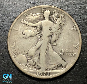1921 S Walking Liberty Half Dollar --  MAKE US AN OFFER!  #B7535