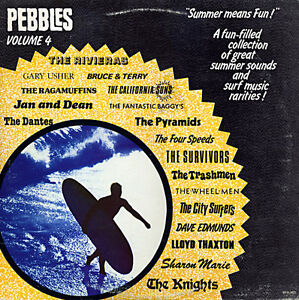 PEBBLES - VOL 04 - RARE 60s SURF COMP LP