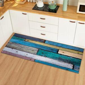 Kitchen Mat Home Doormat Carpet Living Room Floor Anti-Slip Mats Bedroom Rug