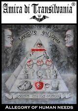 La franc-maçonnerie pyramide ésotérique.oeil magique.pouvoir occulte.pièce rare