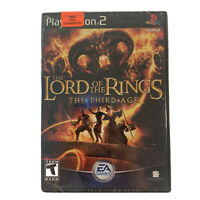 Lord of the Rings: The Third Age (Sony PlayStation 2, 2004) PS2, Factory Sealed