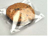 """LIP AND TAPE GUSSETED COOKIE BROWNIE PLASTIC BAGS, 5""""x5""""+1.5"""" Lip, 25 PCS 1.5MIL"""