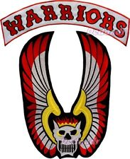 The Warrios Replica Gang Jacket Embroidered Big Patch Swan Cleon Mercy for Back