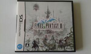 DS Final Fantasy 3 JP