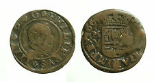 pci3502) SPAIN Philip IV (1621-1665) 16 Maravedis 1664 M Y