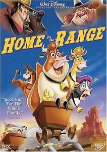 GOOD DVD Home On The Range DISNEY CLASSIC 2004 Roseanne Barr Judi Dench