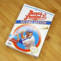 Bases Loaded II 2 Second Season Nintendo NES Video Game CIB (?) Tested Complete