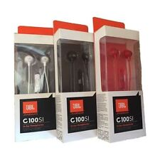 JBL C100SI Wired In-Ear Headphones with Mic ::Imported