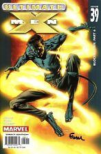 Ultimate X-Men #39 Nightcrawler Signed By Artist David Finch (Lg)