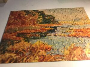 Over 250 piece Genesee An all Fair Puzzle vintage Jigsaw Puzzle- complete!