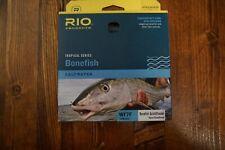 NWT RIO Products Bonefish QuickShooter Fly Line, WF7F, Aqua Blue/Sand Color