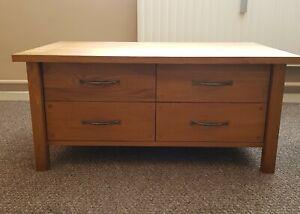 Laura Ashley Oiled Oak Coffee Table  Milton Range RRP £750 (Used Condition)