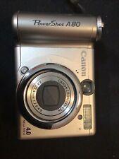 Canon Power Shot A80 Digital Camera 4.0 Mega Pixels