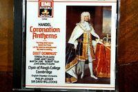 Handel - Coronation Anthems, Dixit Dominus, Ledger, Willcocks  - CD, VG
