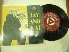 "JAY&KAI""THE BOY NEXT DOOR-Disco 45 giri EP LONDON UK 1959"""