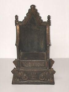 1953 Elizabeth II iron money box by harper coronation throne kings chair