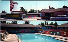 EL CAJON, CA California   The WESTERNER MOTEL    c1950s Car  Roadside  Postcard