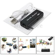 Mini Portable 3G/4G WiFi Hotspot AP IEEE 802.11b/g/n 150Mbps USB Wireless Router