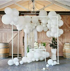 60pcs 12-inch Balloon Latex White Color for Wedding Birthday Bachelorette Party