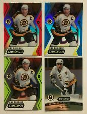 2017-18 Upper Deck Synergy Ray Bourque 4 Card Lot Boston Bruins