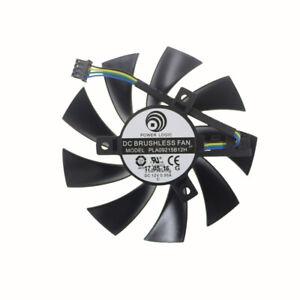 87MM PLA09215B12H DC12V 0.55A 4PIN graphics fan for ASUS PH-GTX1060-3G 6GB