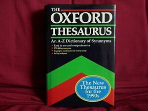 The Oxford Thesaurus: An A-Z Dictionary of Synonyms Hardback Book The Cheap Fast