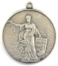 Silbermedaille 1939, Unagrischer Athletik Verein MASZ, Sign. Ludvig