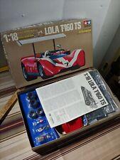 TAMIYA Lola T-160 TS - 1:18 Scale Series #4 Fully Motorized Car Kit large as nos