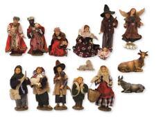 Ankleidefiguren Krippenfiguren Set alpenländisch 15-teilig Größe ca.10cm