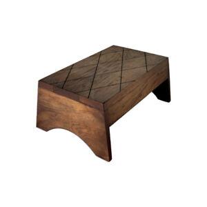 Wood Step Stool Long Custom Handmade Bed Kitchen Bathroom Personalized Engraved