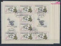 Tschechoslowakei 2911Klb-2915Klb Kleinbögen gestempelt 1987 (8776840