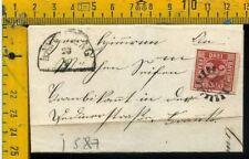 Germania Germany cover envelope Bayern I 587