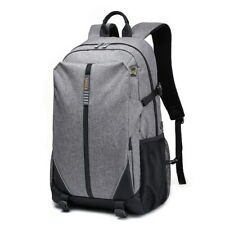 Unisex Business Travel Backpack Women Men 17 Inches Laptop Bag Gray 30L - 35L