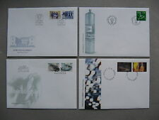 NORWAY, 4x cover FDC 2000, art photography  militairy academy fish
