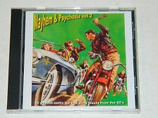 MAYHEM & PSYCHOSIS VOL.2 - (Various Artists) / Laroche CD (Unplayed) Rare!