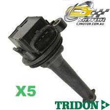 TRIDON IGNITION COIL x5 FOR Volvo V70 08/98-06/10, 5, 2.4L B524(4, 5)
