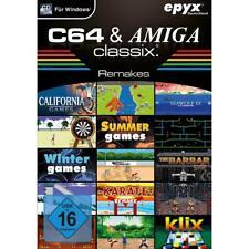 C64 und Amiga Classix Remakes Retro Spielesammlung Klassiker PC CD-ROM, NEU&OVP
