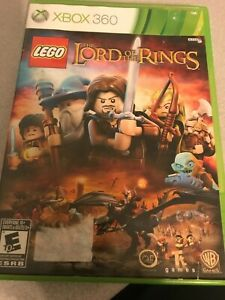 XBox 360 Lego The Lord of the Rings  game ( low shipping )