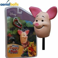 NEW 4 in 1 Disney Piglet Car Aerial Antenna Ball Topper