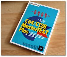 Markt&Technik Buch: C64/C128 MasterTEXT Plus/Textverarbeitung mit Komfortabler D