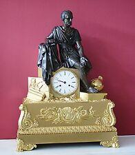Empire französische Bronze Pendule um 1820 Caius Marius