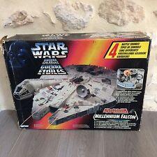 Vaisseau Faucon Falcon millenium Hasbro 1995 Star Wars en Boite