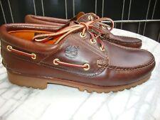Timberland 3 EYE Heritage Classic Lug Bootsschuhe Gr.42 8,5W Braun s.getragen