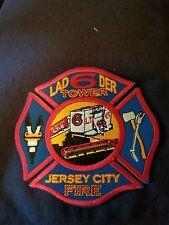fire patch Jersey city Ladder tower 6