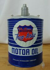 Rare-PHILLIPS TROP-ARTIC MOTOR OIL-REPLICA GAS CAN BANK - First Gear 1999