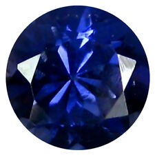 0.69 ct AAA Shimmering Round Shape (6 x 6 mm) Blue Iolite Natural Loose Gemstone