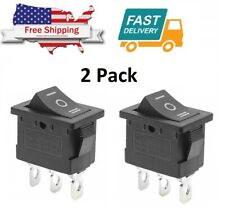 2 x ON/OFF/ON SPDT 3 Position Micro Mini Toggle Switch 10 AMP 125V 3 PIN