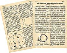 Optische Industrie Deutschlands* Historische Memorabile 1914