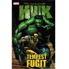 BD comics Marvel The Incredible Hulk : Tempest Fugit